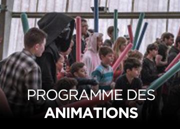 Programme des animations