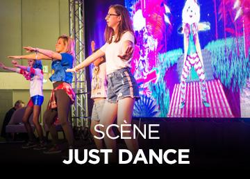 Scène Just Dance