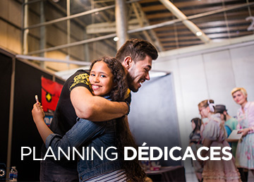Planning dédicaces